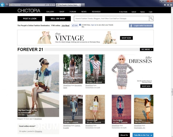 HautePinkPretty on Chictopia's Front Page