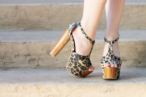 HautePinkPretty An Dyer wearing Jessica Simpson Dany Leopard