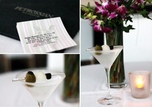 Petrossian West Hollywood - Caviar Martini