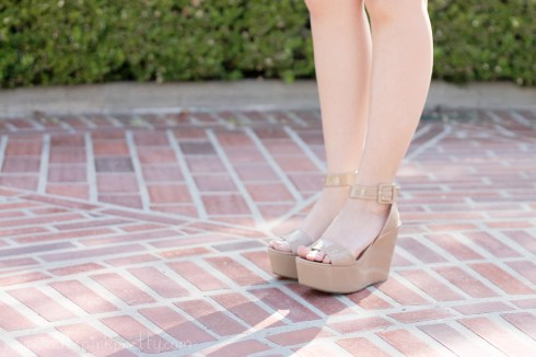 www.HautePinkPretty.com - An Dyer wearing  BCBGeneration Lee Flatforms