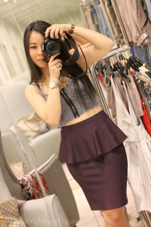HautePinkPretty - An Dyer - Vegas Shopping at Fashion Show Mall - TopShop