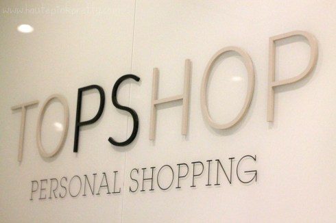 HautePinkPretty - Vegas Shopping at Fashion Show Mall - TopShop's Personal Shopping