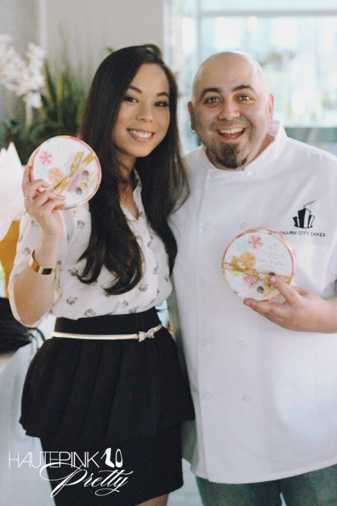 An Dyer at the Duff Goldman x Godiva - Limited Edition Cake Truffle Press Event
