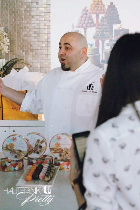 Duff Goldman x Godiva - Limited Edition Cake Truffle Press Event - Interview