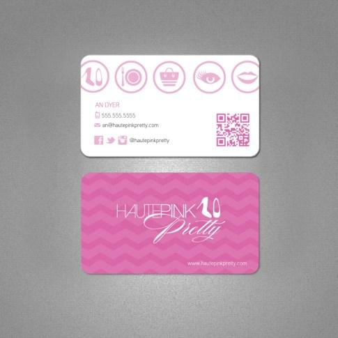 HautePinkPretty Business Card Design by Joe Lazaro