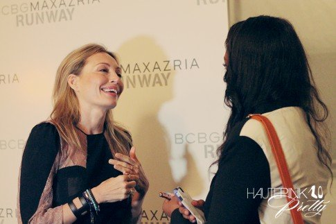 BCBGMaxazria Runway SS13 Backstage Behind the Scenes Lubov Azria Interview