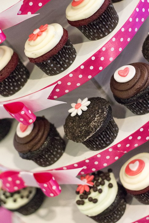 2b by bebe Blogger State of Style Soiree - Dots Cupcakes