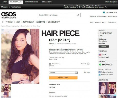 HautePinkPretty.com - An Dyer wearing Bijou Van Ness hair accessories and Kittinhawk necklaces for LAFC on ASOS