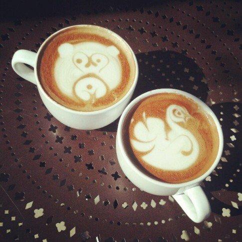 Adorableness at Urth Caffe
