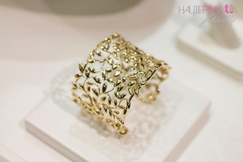 Tiffany & Co's Paloma Picasso Olive Leaf Preview Gold Cuff