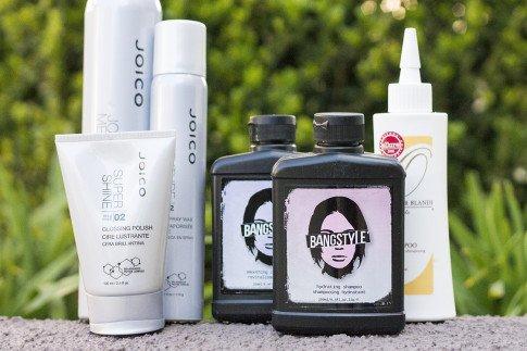 HautePinkPretty roadtoMAGIC What I'm Packing for Vegas - Joico Bio Advanced Peptide Complex Glossing Polish, Spray Wax, Finishing Spray, Bangstyle Hydrating Shampoo & Conditioner, Oscar Blandi Dry Shampoo