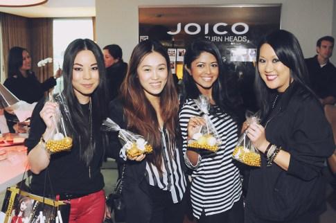 Joico's TURNHEADS Event at the SLS Hotel - An Dyer HautePinkPretty, Joo Kim LoveJooKim, Sheryl Luke WalkInWonderland