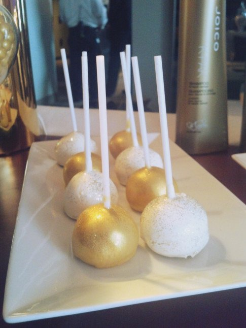Joico's TURNHEADS Event at the SLS Hotel - Cake Pops detail