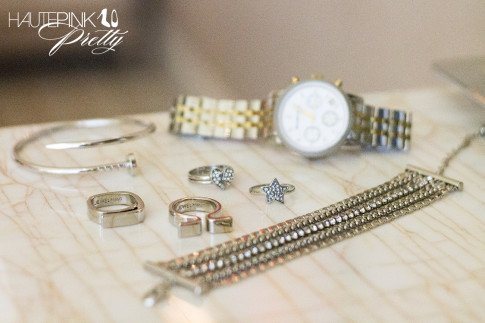 Glint & Gleam Nailed It Bangle & Supercharged Chain Bracelet, Jewelmint Alexandria Rings &  Cosmic Love Rings