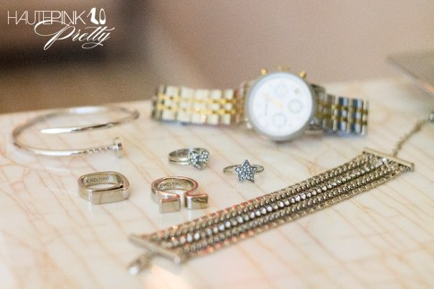 Glint & Gleam Nailed It Bangle & Supercharged Chain Bracelet, Jewelmint Alexandria Rings &  Cosmic Love Rings