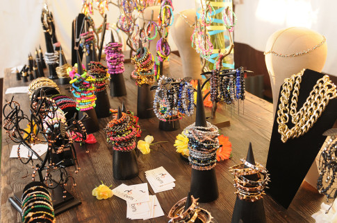 Collection Display at the Haute Betts Prechella Party