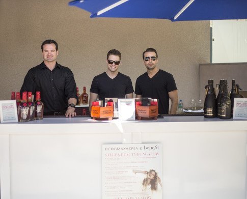 Makers Mark Bartenders Mixologist BCBGMaxazria Benefit Beauty Bungalow Coachella 2013