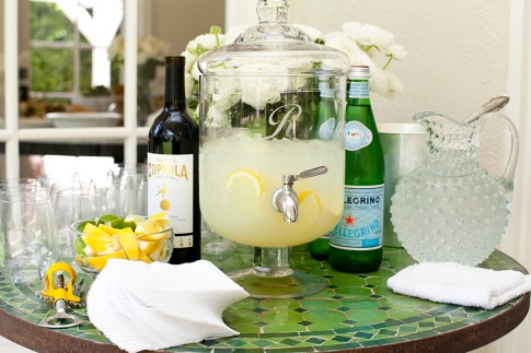 Bailey 44 Brunch Cappola Wine & Fresh Lemonade Dispenser