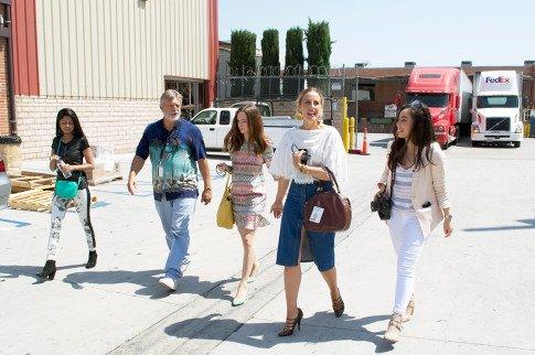 Vogue Influencers Visit OPI Headquarters - Touring the OPI Buildings - Beth Jones BJonesStyle, Marra Ferreira MLovesM, Sheryl Luke WalkInWonderland, An Dyer HautePinkPretty