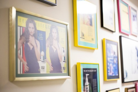 Vogue Influencers Visit OPI Headquarters - Vintage OPI Advertisements