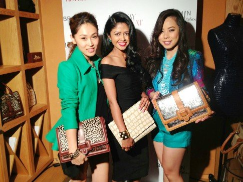 We stopped by Vogue's Runway Retreat and checked out Brahmin's