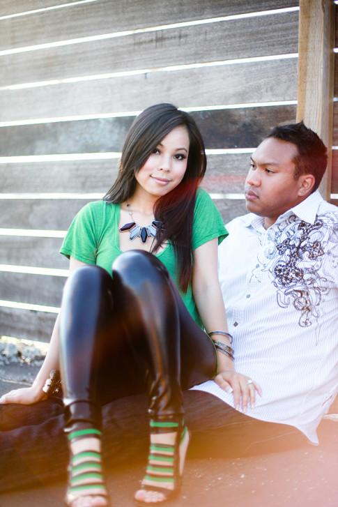 Chris & An Dyer - Engagement Photos 2009 by Brandon Kidd Photography 5