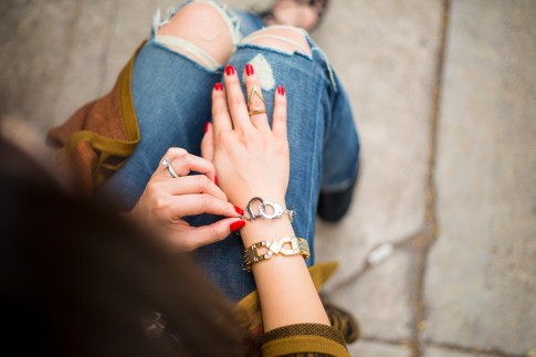 Boyfriend Jeans & Rust