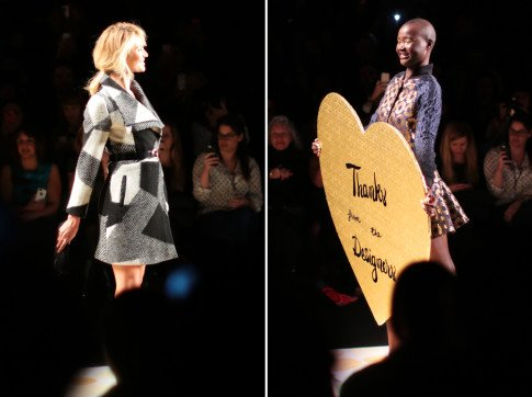 Desigual AW14 Runway Show at Mercedes Benz Fashion Week Lincoln Center Theatre