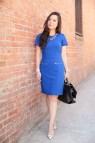 Cobalt Blue Dress Haute Pink Pretty