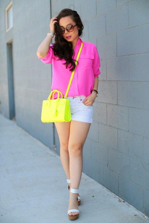 Neon Street Style