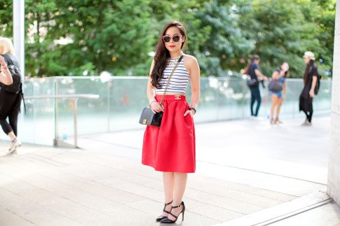 Streetstyle New York Fashion Week Day 1