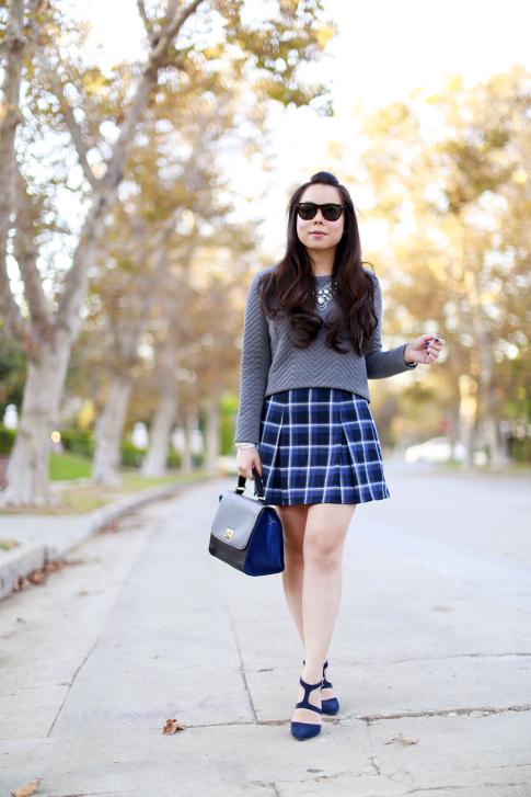 Fall Girly School Girl Style
