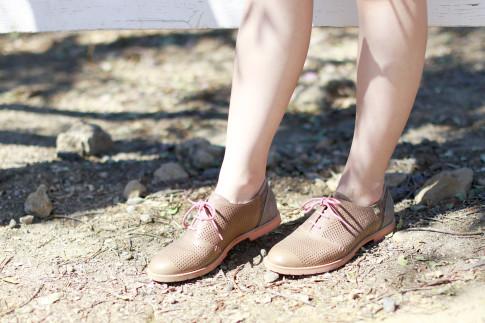 An Dyer wearing Ahnu Footwear