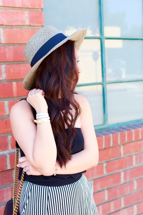 Panama Hat Chanel Boy Bag Street Style