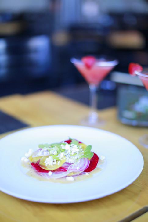 Sushi Roku Las Vegas Tuna & Beets Carpaccio