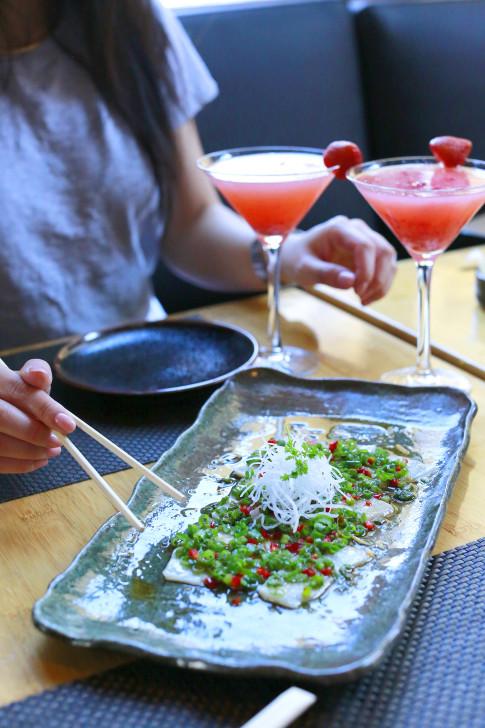 Sushi Roku Las Vegas Yellowtail Diced Chilies
