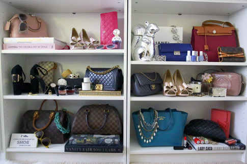 Handbag Display Styling