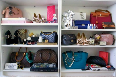 Handbag Display Styling