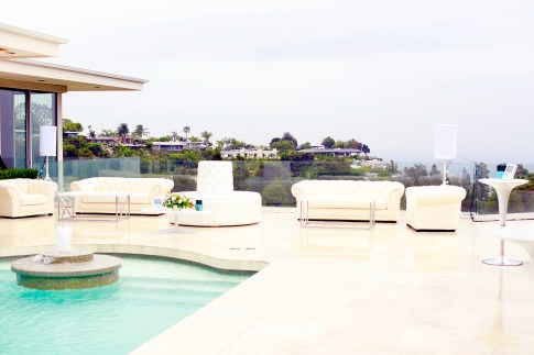 Doheny Estates Pool Dolce Gabbana PSSummerSoiree