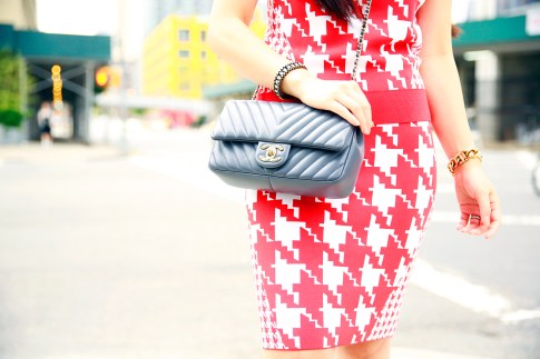 An Dyer NYFW SS16 StreetStyle Chevron Chanel