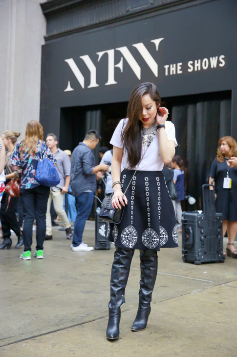 An Dyer NYFW Street Style SS16