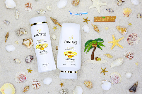 HautePinkPretty for Pantene Shampoo Conditioner