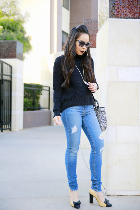 Joe's Jeans Chunky Sweater with Etienne Aigne