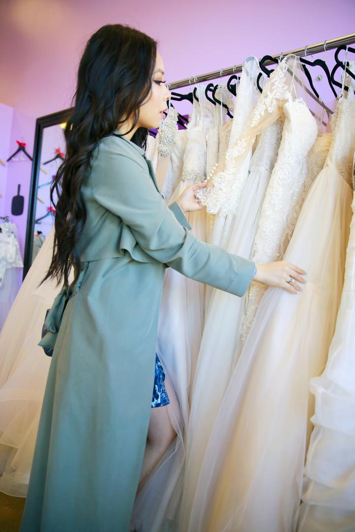 Stella York Dress Shopping