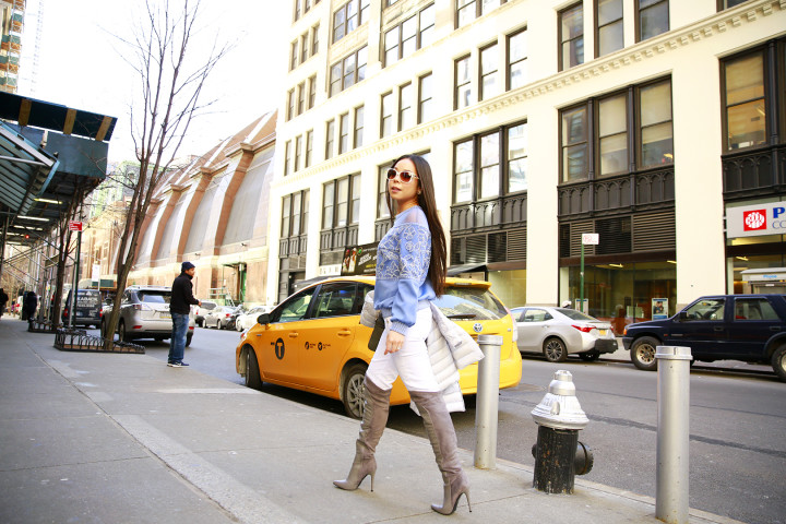 An Dyer Tadashi Street Style NYFW FW16