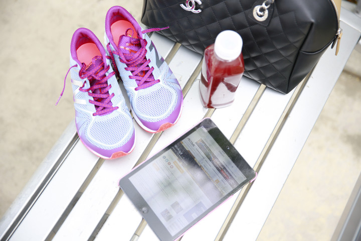 New Balance, iPad, Active website