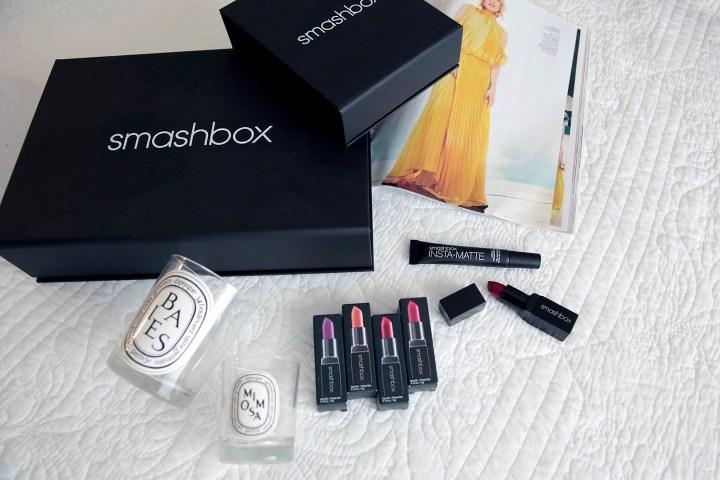 Smashbox Lipstick and Instamatte