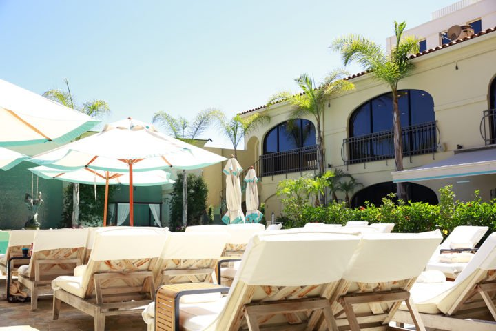Beverly Wilshire Pool Deck