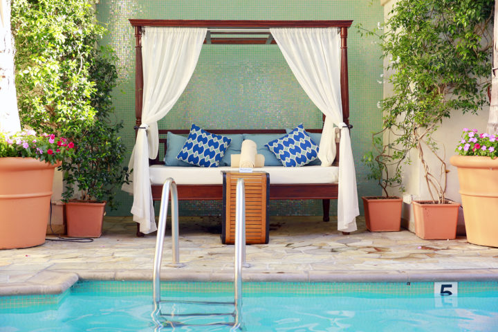Beverly Wilshire Private Cabana