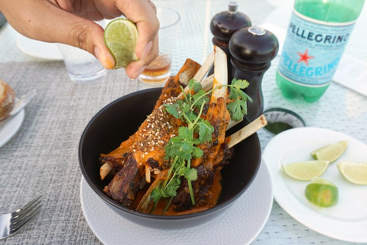 Boxwood On The Roof The London WeHo Beverly Hills Tikka Masala Lamb Ribs